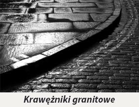 Krawężniki granitowe