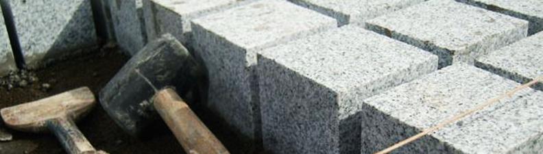 Kostki granitowe rzędowe